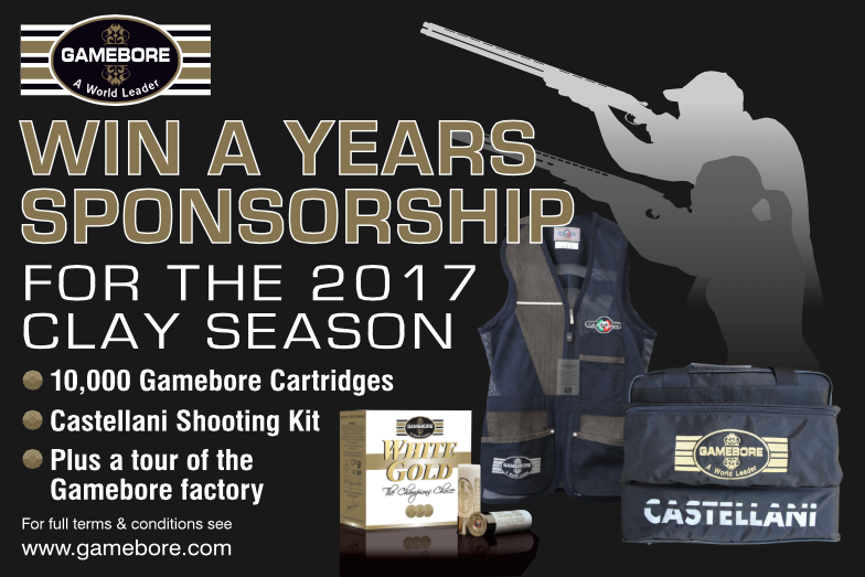 WIN a Year's Gamebore Sponsorship